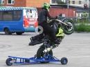 'Du wolle Wheelie lerne?' Trainingsgerät Wheelie Spider von Stuntex