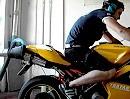 Ducati 1098 mit MIVV Auspuffanlage auf dem Leistungsprüfstand