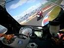 Ducati 1098 vs. Suziuki K6 auf dem Lausitzring