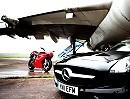 Ducati 1198 SP vs Mercedes SLS AMG von MCN