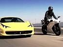 Ducati 1198S vs. Ferrari 458 Italia - Forza Italia