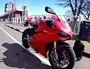 Ducati 1199 Panigale onboard Isle of Man TT- Strecke