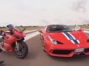 Ducati 1199 Panigale R vs. Ferrari 458 Speciale | GRIP - Das Motormagazin