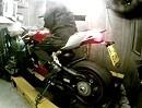 Ducati 1199 Panigale Tricolore mit Termignoni auf Leistungsprüfstand