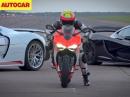Ducati 1199 Superleggera vs Porsche 918 Spyder vs McLaren P1
