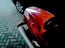 Ducati 750 ss mit BOS-Racing Auspuff