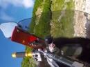 Ducati 848 Crash kurios: Angst bekommen? Dreck auf der Straße?