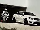 Ducati 848 und AMG - Mercedes = Gesucht und gefunden - cooler Clip