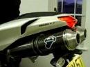 Ducati 848 with Termignoni cans Dyno runs