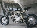 Ducati 860 GT Turbo Cafe Racer Umbau von Hazan Motorworks, USA