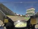 Ducati 899 Panigale onboard Lap Imola mit Alessandro Valia