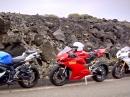 Ducati 899 Panigale vs. Suzuki GSX-R750 vs. Triumph Daytona 675R via MCN