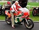 Ducati 900 NCR mit dem Motorrad gewann Mike Hailwood 1978 die IOM TT