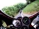 Ducati 916 hinter VTR SP1 Aartalsee in Richtung Marburg (Zollbuche)