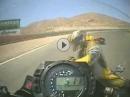 Ducati 998 Motorplatzer und die Folgen - beide kamen mit dem Schrecken davon
