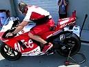 Ducati Desmocedici GP 09 MotoGP anlassen - böse und giftig