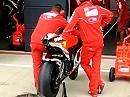 Ducati Desmosedici GP11 Valentino Rossi Warm UP - Endgeiler Sound Noppenanzug