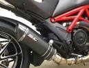 Ducati Diavel Auspuffanlage von SC-Project - sieht geil aus, und hört sich auch so an
