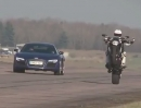 Ducati Diavel vs. Audi R8 V10:Plus 0-150 Beschleunigungstest
