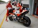 Ducati GP17, Casey Stoner Sepang 17 - erstes Rollout