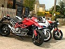 Ducati Hypermotard 1100 vs Suzuki GSX-R600 vs Triumph Speed Triple