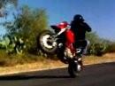 Ducati Hypermotard - extremst geiler Andrücker-Film - und der Stinker fährt ohne Lederklamotten ;-)