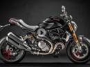 """Ducati Monster 1200 S: Black on Black """"Monster is the new black"""""""