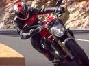 Ducati Monster 1200S (2014) Vorstellung auf Teneriffa
