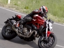 Ducati Monster 821 - Actionvideo der NEUEN