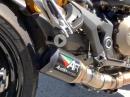 Ducati Monster 821 & 1200 mit Austin Racing Auspuff - SO muss das