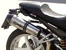 Ducati Monster S4R mit GPR Titan Auspuffanlage