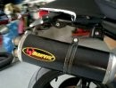 Ducati Monster S4R mit Akrapovic und Quat-D Krümmer
