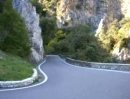 Ducati Monster S4RS mit Termignoni, Klangprobe in der Cascada val Prasa