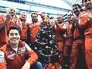 Ducati MotoGP-Team Nicky Hayden: Frohe Weihnachten - sympatisch gemacht