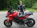 Ducati Multistrada 1200S semiaktive Fahrwerk nachgerüstet mit Öhlins Steuereinheit