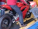 Ducati Panigale 1199 auf dem Prüfstand von Motociclismo