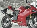 Ducati Panigale 1199 Auspuffanlage für den japanischen Markt
