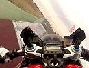 Ducati Panigale 1199 onboard Albacete artgerecht auf freier Wildbahn