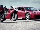 Ducati Panigale 1199 S vs. Ferrari F430 Video zum genießen