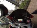 Ducati Panigale Crash. Rechts überholt und abgeflogen