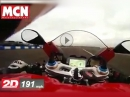 Ducati Panigale V4 191 mph / 307 km/h - Top Speed Test via MCN