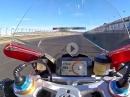Ducati Panigale V4 onboard Valencia - schiebt mächtig an der V4