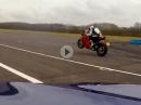 Ducati Panigale V4 vs BMW M760Li - eindeutig abgeledert und wheeliesiert