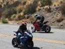 Ducati Panigale V4S Highsider abgefangen - geiler Save
