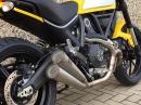 Ducati Scrambler Auspuff von SC-Projekt. Top Optik, bassiger Sound