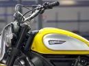 Ducati Scrambler - die Lieferung nach Europa beginnt