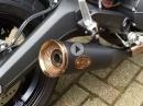 Ducati Scrambler Soundcheck: Zard ZUMA Slip on mit DB-Eater