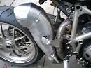 Ducati Streetfighter mit 134DD Exhaust