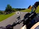 Ducati Streetfighter on fire :-) Gimbal G4S im Test