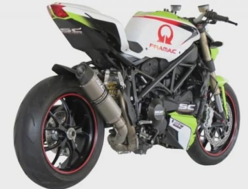 Ducati Streetfighter  Termignoni Slip On